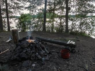 Vohla fireplace