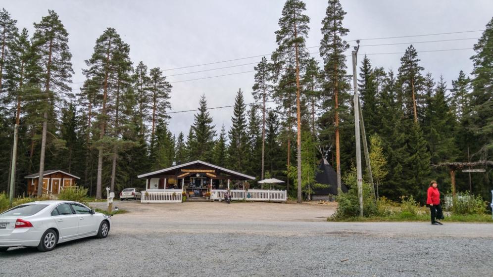 Kankimäki restaurant and parking