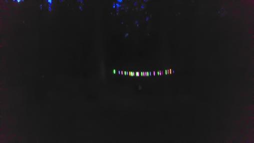 They got some glowing sticks...!